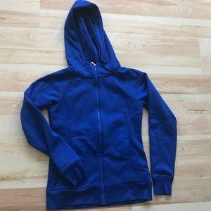 Under Armour Storm hooded zip sweatshirt Sz Small